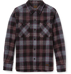 Neighborhood Plaid Wool-Blend Shirt
