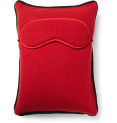 Armand Diradourian Cashmere Travel Pillow and Eye Mask