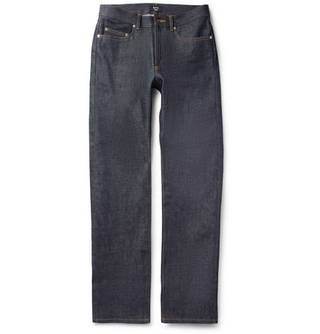 A.P.C. Rescue Regular-Fit Dry Selvedge Denim Jeans