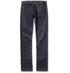 A.P.C. New Cure Slim-Fit Dry Denim Jeans