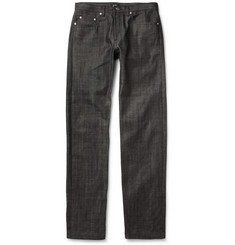 New Standard Regular-Fit Dry Denim Jeans
