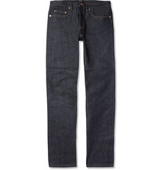 A.P.C. New Standard Straight-Leg Dry Selvedge Denim Jeans