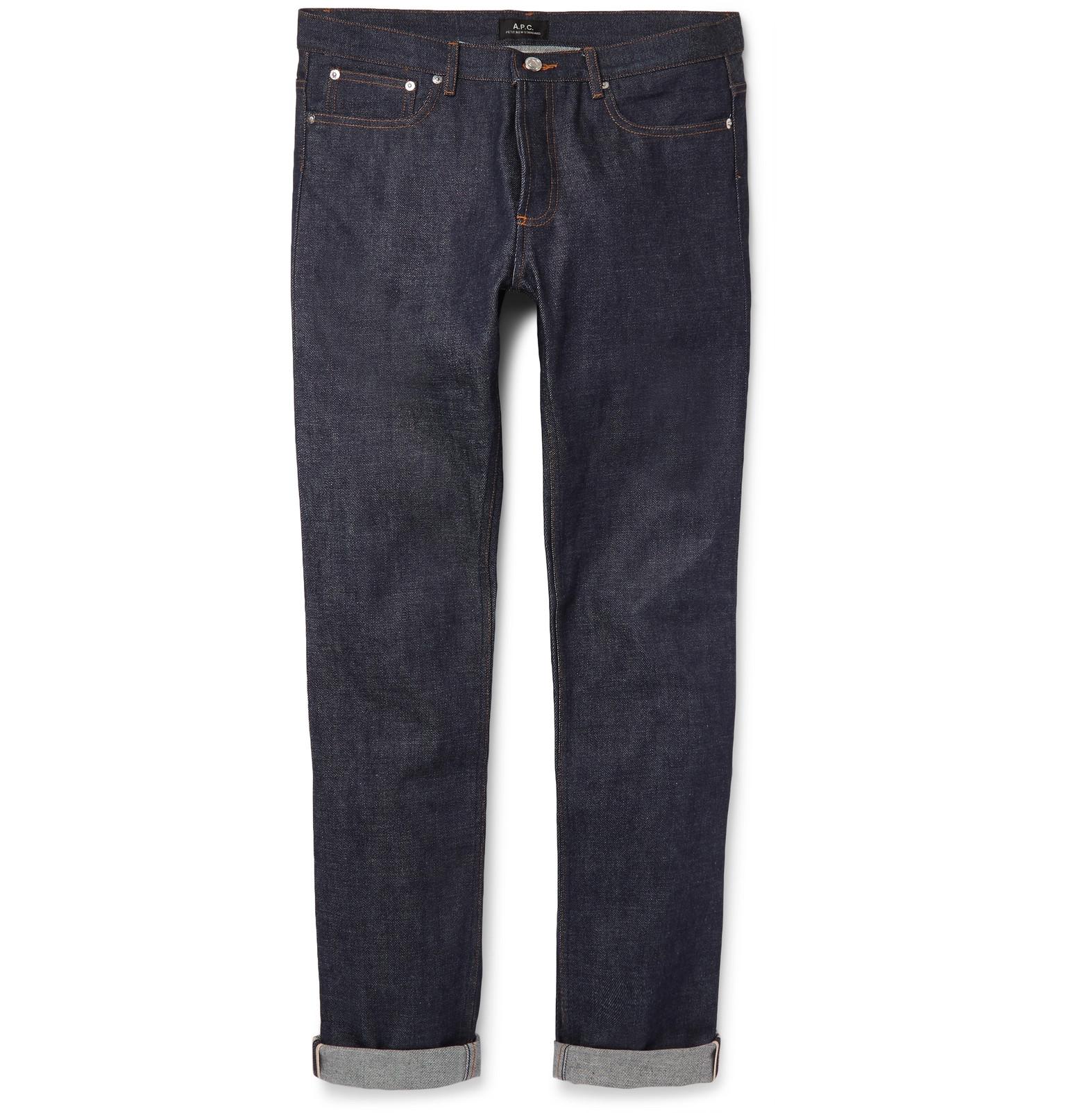 A.P.C. - Petit New Standard Skinny-Fit Dry Selvedge Denim Jeans