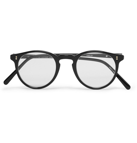 Oliver Peoples O'Malley Round-Frame Optical Glasses