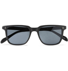 Oliver Peoples NDG Square-Frame Acetate Sunglasses