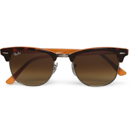 Ray-Ban Clubmaster Two-Tone Sunglasses