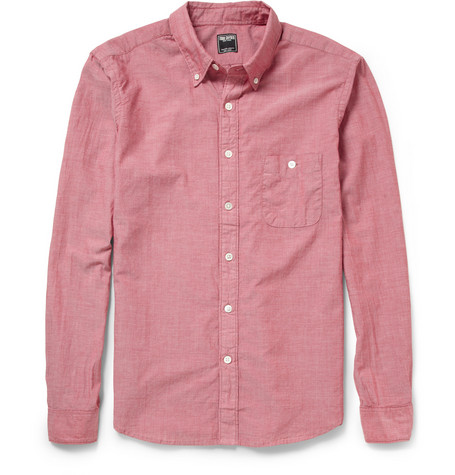 Todd Snyder Cotton-Chambray Shirt