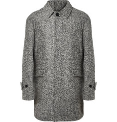 Sandro Flecked Wool-Blend Coat