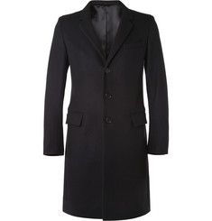 Sandro Slim-Fit Wool-Blend Overcoat