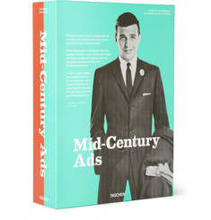 Taschen Mid-Century Ads: Advertising from the Mad Men Era Hardcover Book by Steven Heller and Jim Heimann