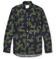 Saturdays Surf NYC Crosby Camouflage-Print Cotton Shirt