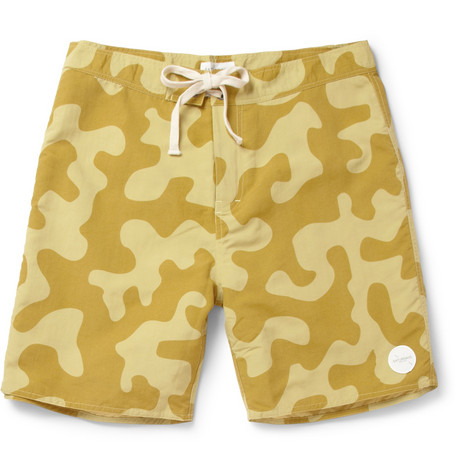 Saturdays Surf NYC Colin Long-Length Swim Shorts