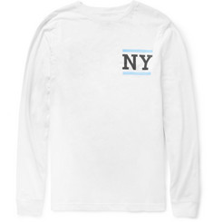 Saturdays Surf NYC NY-Print Cotton-Jersey Long-Sleeved T-Shirt