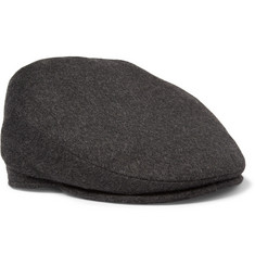 Lock & Co Hatters Oslo Loden Wool and Alpaca-Blend Flat Cap