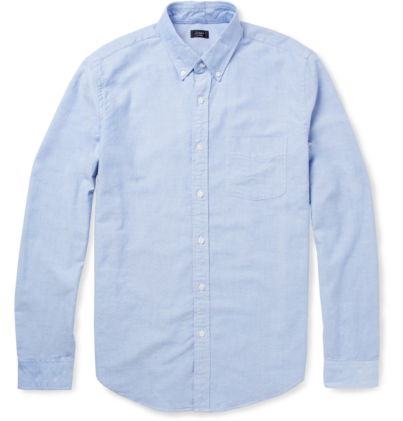 J.Crew - Button-Down Collar Cotton Oxford Shirt