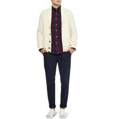 Gant Rugger Plaid Button-Down Collar Cotton Oxford Shirt