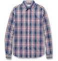 Gant Rugger - Plaid Button-Down Collar Cotton Oxford Shirt