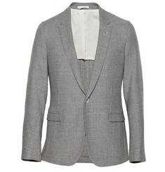 Gant Rugger Slim-Fit Glen-Check Wool Suit Jacket