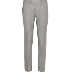 Gant Rugger Slim-Fit Glen-Check Wool Suit Trousers