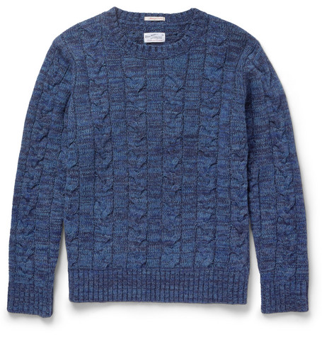 Gant Rugger Cable-Knit Wool-Blend Sweater