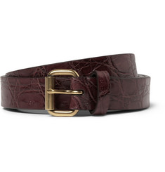 Alvaro Crocodile Belt