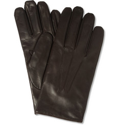 Merola Gloves Cashmere-Lined Leather Gloves