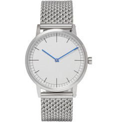 Uniform Wares 152 Series Brushed-Steel Wristwatch