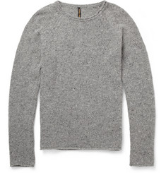 Nudie Jeans Vladimir Flecked Wool-Blend Sweater
