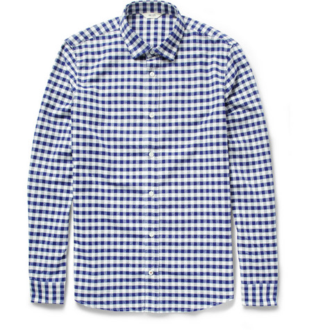 NN.07 Lindh Check Cotton Oxford Shirt