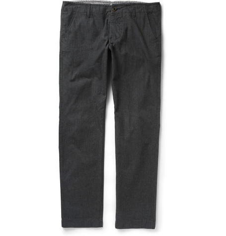 NN.07 Simon Brushed Woven-Cotton Chinos
