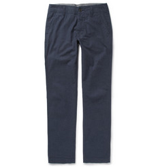 NN.07 Simon Tapered Pinstripe Cotton Trousers