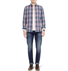 NN.07 Arthur Regular-Fit Washed Selvedge Denim Jeans