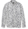Todd Snyder Printed Cotton-Poplin Shirt