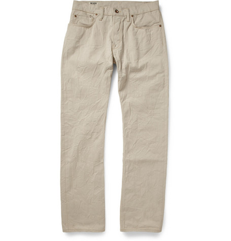 Todd Snyder Straight-Leg Japanese Selvedge Denim Jeans