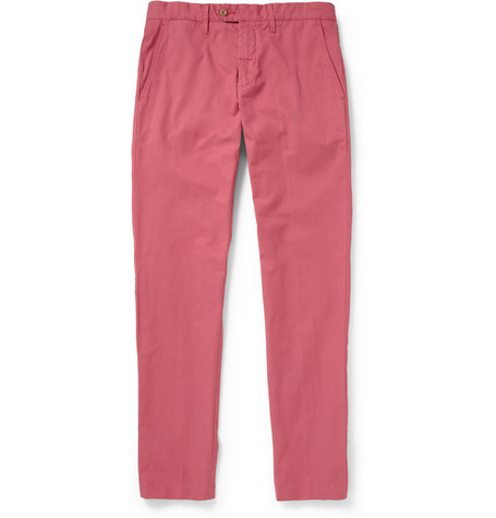 Todd Snyder Washed-Cotton Chinos