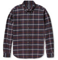 Marc by Marc Jacobs Double-Faced Plaid Cotton-Flannel Shirt
