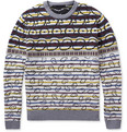 Marc by Marc Jacobs - Patterned Merino Wool Crew Neck Sweater