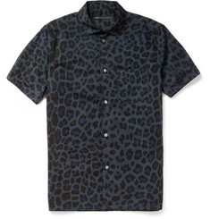 Marc by Marc Jacobs Printed Short-Sleeved Cotton Shirt