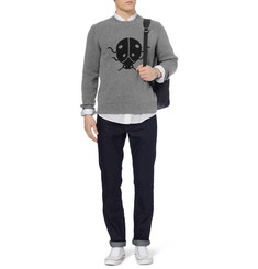 Marc by Marc Jacobs Ladybird-Patterned Merino Wool Sweater