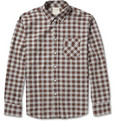 Billy Reid Walland Plaid Cotton-Flannel Shirt