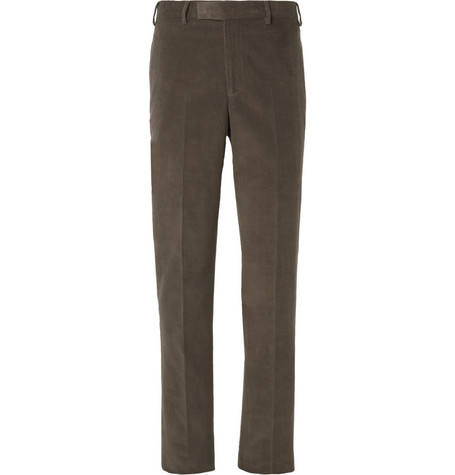 Billy Reid Halstead Slim-Fit Cotton and Cashmere-Blend Corduroy Suit Trousers