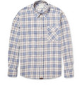 Billy Reid - Gilbert Plaid Cotton Shirt