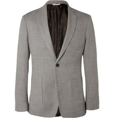 Billy Reid Woven Wool and Mohair-Blend Blazer