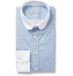 Etro Slim-Fit Printed Cotton Shirt