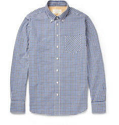 Rag & bone Gingham Check Cotton Shirt