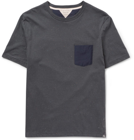 Rag & bone Flecked Cotton-Blend T-Shirt