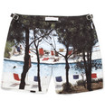 Orlebar Brown - Bulldog Mid-Length Printed Swim Shorts