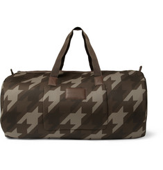 Marc by Marc Jacobs Camouflage Houndstooth Padded Mesh Duffle Bag