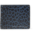 Marc by Marc Jacobs Leopard-Print Leather Billfold Wallet