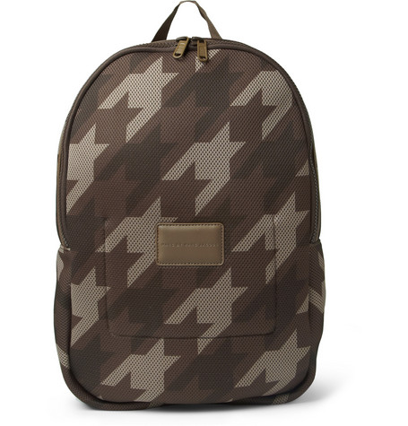 Marc by Marc Jacobs Camouflage Houndstooth Padded Mesh Backpack